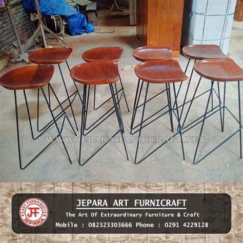 Paket 1 Set Meja Kursi Cafe Minimalis Industrial Meja Kursi Resto jual set meja kursi bar cafe jati industrial harga murah