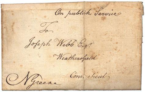 up letter american revolution c valley forge letter