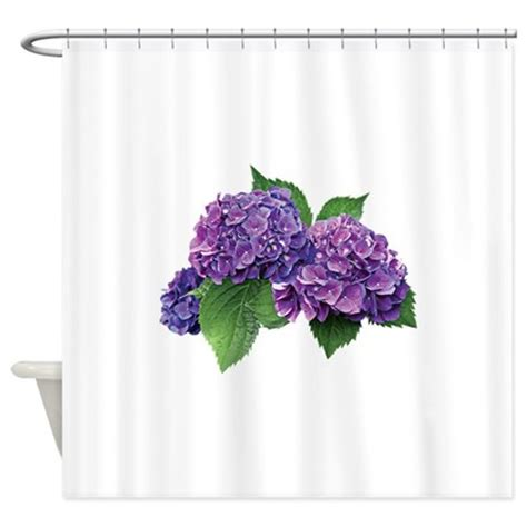 hydrangea shower curtain purple hydrangea shower curtain by hydranss9