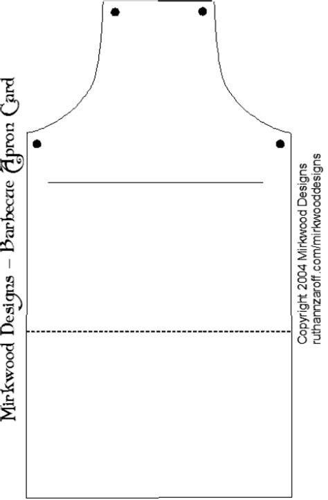 apron design template jess obsession may 2009