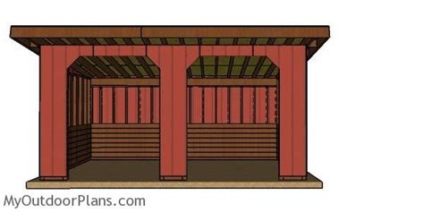 run  shed plans