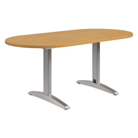 Racetrack Conference Table Preside Racetrack Conference Table Top 72 X 36 Harvest Thegreenoffice