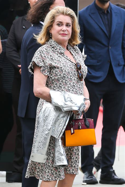 catherine deneuve louis vuitton catherine deneuve louis vuitton city steamer bag
