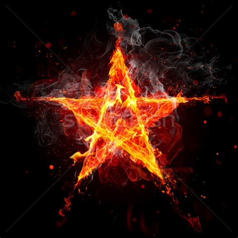 of fire and stars fire star stock photo 169 uladzimir bakunovich vladimir 305349 stockfresh