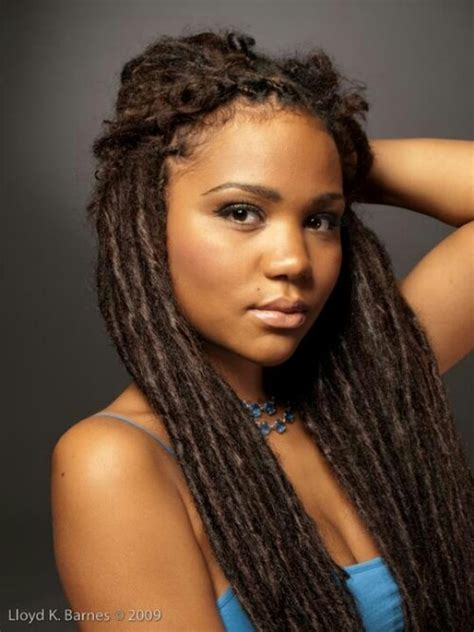 black women soft dreads beautiful locs natural hair pinterest