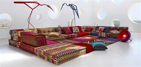 Living Room Designer Mah Jong Sofa Roche Bobois