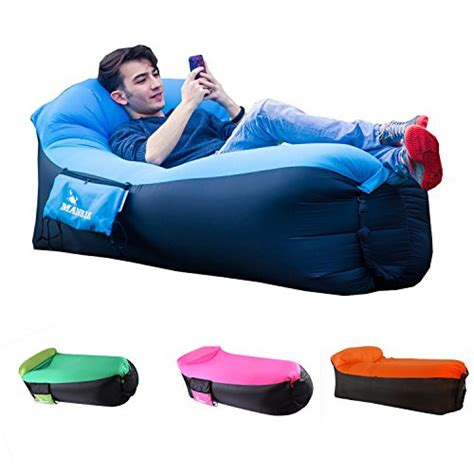 mamble lounger sofa portable sofa bed air sofa for travelling cing park