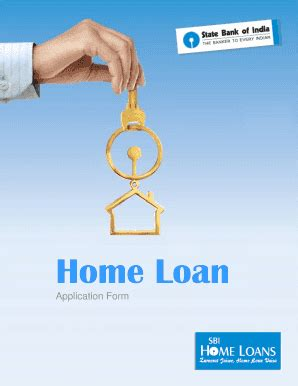 sbi housing loan application form sbi home loan application form fill online printable fillable blank pdffiller
