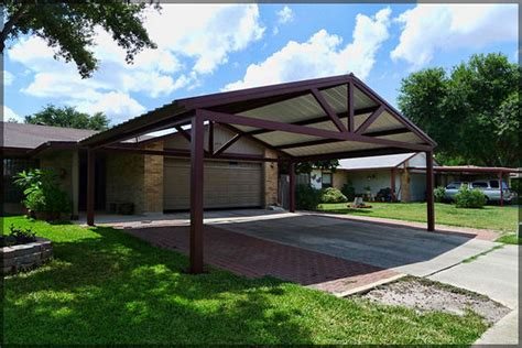 Metal Carport Attached To House Wood Carports Photos Design Ideas For House