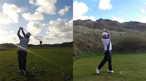 super slow motion golf swing driver slow motion driver golf swing gopro golf spare time