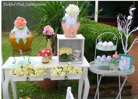 enchanted garden decoration enchanted garden baby shower baby shower ideas themes