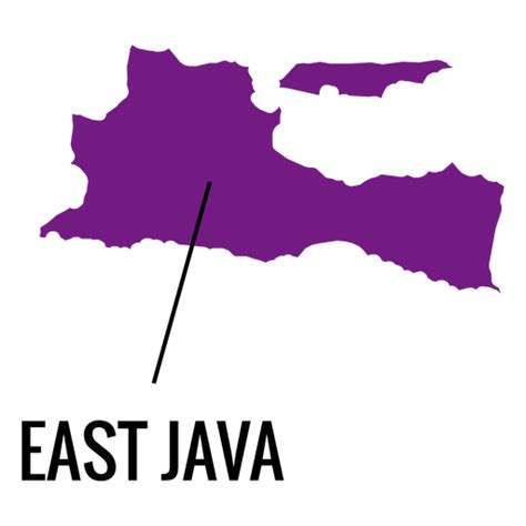 east java province map transparent png svg vector