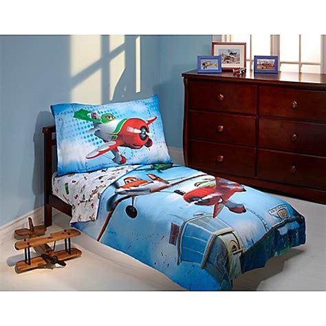 Planes Bedding Set Toddler Bedding Sets Gt Disney 174 Quot Planes Quot Own The Sky 4 Toddler Bedding Set From Buy Buy Baby