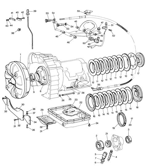 Jaguar E Type Automatic Gearbox parts for jaguar e type serie i and ii 6 cylinder