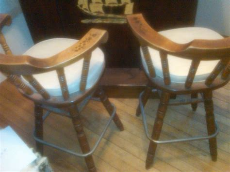 Solid Maple Bar Stools by Solid Maple Bar With Stools My Antique Furniture Collection