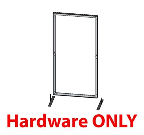 3ft X 4ft Frame by 6ft X 3ft Vector Frame 02 R With Ocs Hardware Only