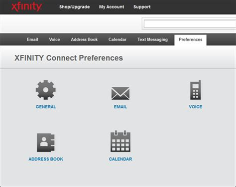 email xfinity advanced xfinity connect email features