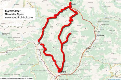 Motorradtouren Meran by Motorradtour Sarntaler Alpen