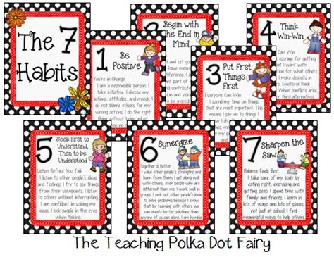 Best 25 7 Habits Ideas Best 25 7 Habits Posters Ideas On 7 Habits Leader In Me And 7 Habits Activities