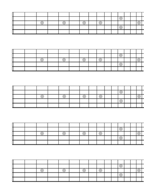 blank guitar fretboard diagram white gold