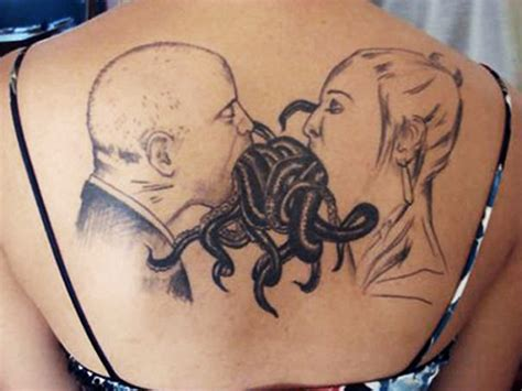 worst couple tattoos pictures worst designs tentacles