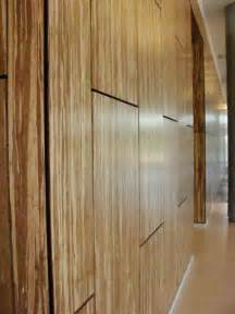 implementation of bamboo wall panels at the new kone