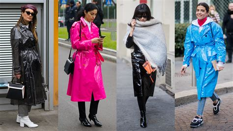 proof  shiny trench coat trend isnt