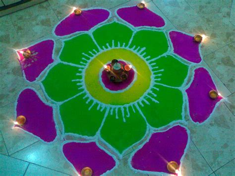 times4news best rangoli designs for diwali gadget review