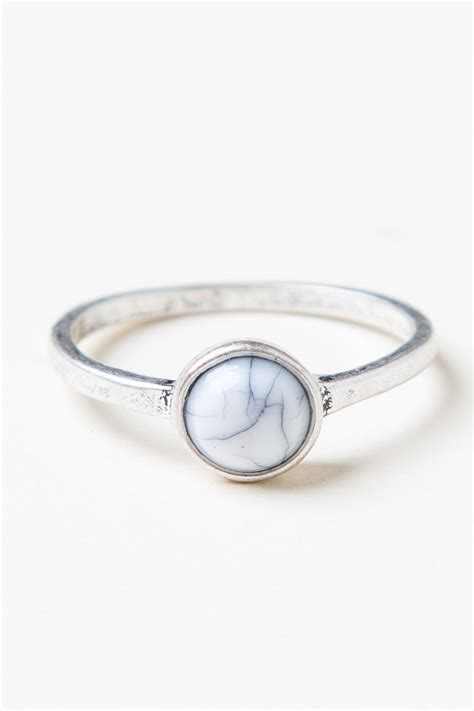 Marble Ring melville small marble ring jewelry