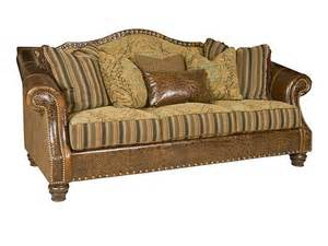 King Hickory Leather Sofa King Hickory Living Room Rock Leather Fabric Sofa 6500 Lf Hickory Furniture Mart Hickory Nc