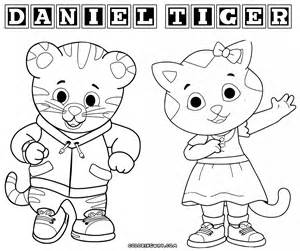 coloring sheet daniel tiger coloring pages coloring home