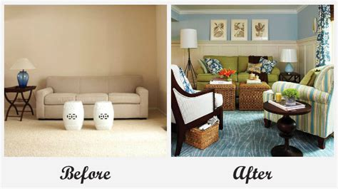 room makeover before and after room makeovers each featuring a different before and after