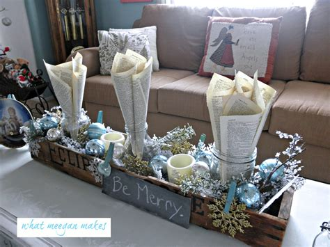 how to decorate a coffee table for christmas my coffee table