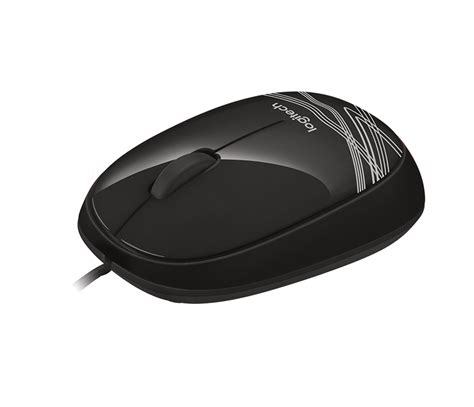 Mouse Logitech M105 m105 corded optical mouse logitech en gb