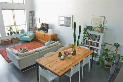 apartment dining room eclectic living dining room small layout studio apartment