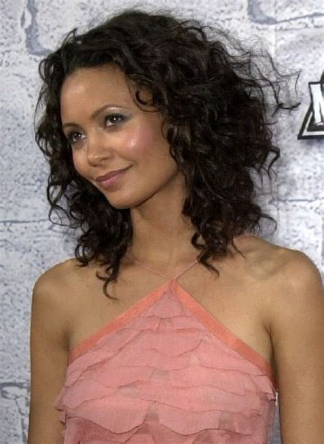 layered bob curly i already cut my hair but this thandie newton side view reverse bob with layers in