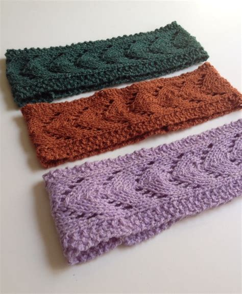 knit lace headband pattern knit the filly horseshoe lace headband tracy