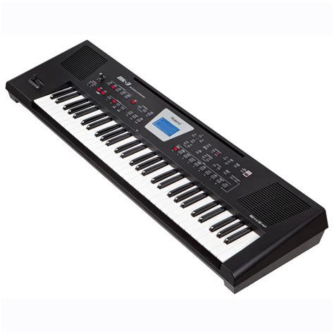 Keyboard Roland Standar roland bk 3 compact backing keyboard black at gear4music