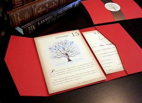 vintage blue bird wedding invitations vintage book winter wedding invitation set snow and tree