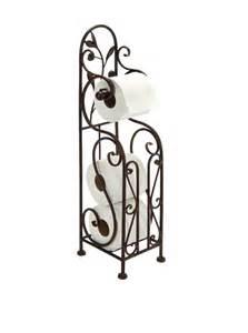 decorative single toilet paper cover iron metal toilet paper tissue roll standing holder reddish bronze color decor ebay