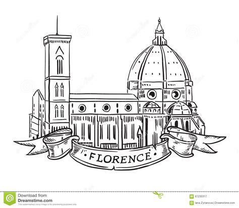 Church Floor Plans Free santa maria del fiore florence stock vector image 67230317