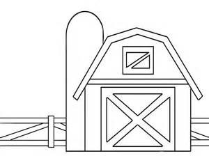 drawings of barns desenho de cerca da fazenda para colorir tudodesenhos