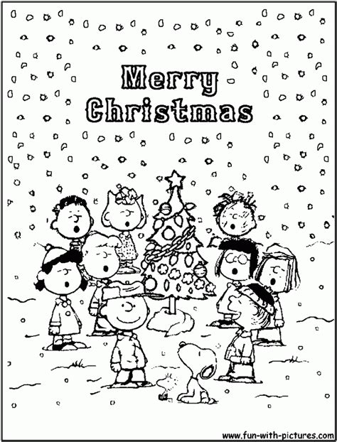 coloring pages of charlie brown christmas charlie brown christmas coloring pages free az coloring