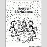 Charlie Brown Christmas Coloring Pages | 736 x 966 gif 109kB