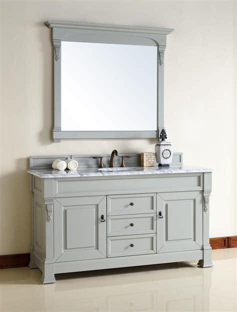 60 inch bathroom countertop abstron 60 inch grey finish single traditional bathroom