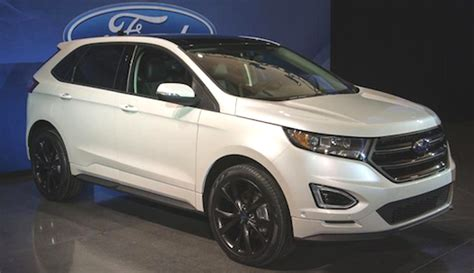 2020 Ford Edge Sport by 2020 Ford Edge Sport Redesign Ford Trend