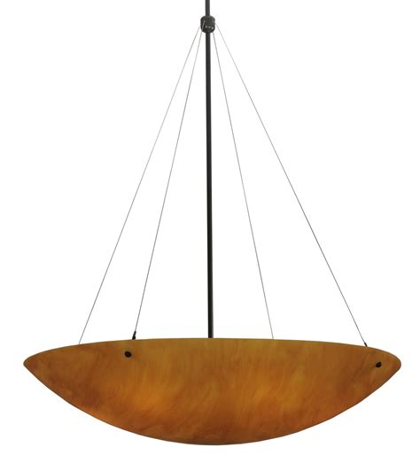 Meyda 117695 Cypola 36 Quot New Mica Inverted Bowl Pendant Inverted Bowl Pendant Light