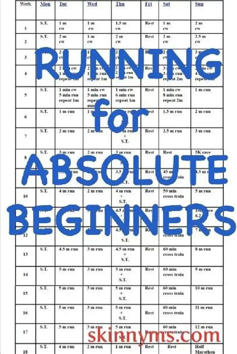 printable running schedule search results for printable training schedule for