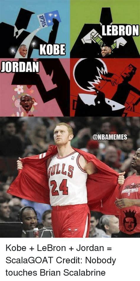 Lebron Kobe Jordan Meme - funny brian scalabrine memes of 2017 on sizzle white mamba