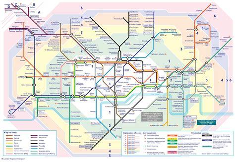 printable tube map zone 1 misc history of transportation skyscrapercity